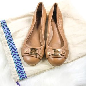 •Tory Burch• Leather Flats